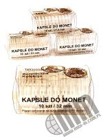 Kapsle do monet pakowane po 10 szt / 32 mm